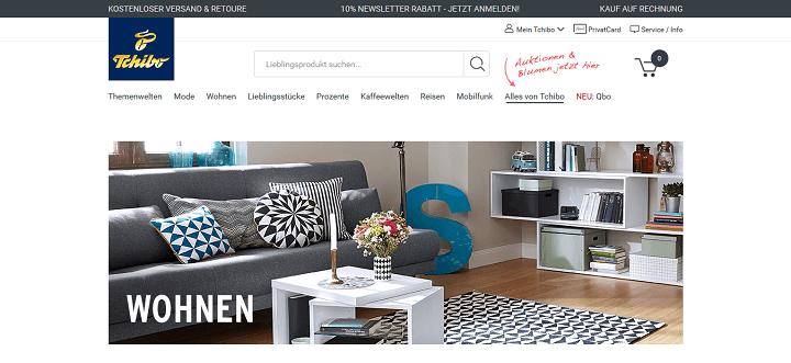 tchibo angebote okt 2017 alle gratis gutscheincodes. Black Bedroom Furniture Sets. Home Design Ideas