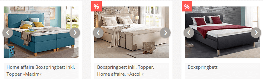 yourhome Boxspringbett