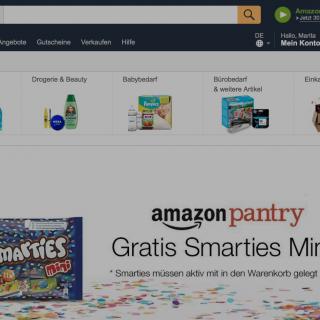 Amazon Pantry Gutschein